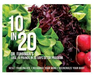 10 in 20: Dr. Fuhrman's Lose 10 Pounds in 20 Days Detox Program - Paperback Book