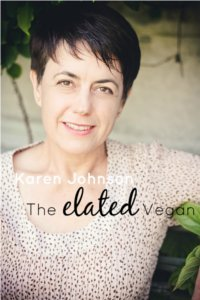 Karen Johnson - The Elated Vegan. Photo © Tessa-B.com
