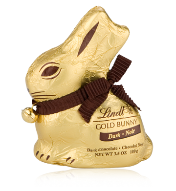 The Lindt Dark Chocolate Gold Bunny is vegan by accident.