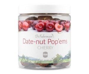 Dr. Fuhrman Date-Nut Pop'ems - Cherry