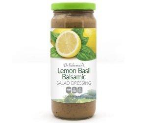 Dr. Fuhrman Lemon Basil Balsamic Salad Salad Salad Dressing