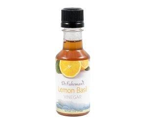 Dr. Fuhrman Lemon Basil Vinegar - 2 oz. bottle