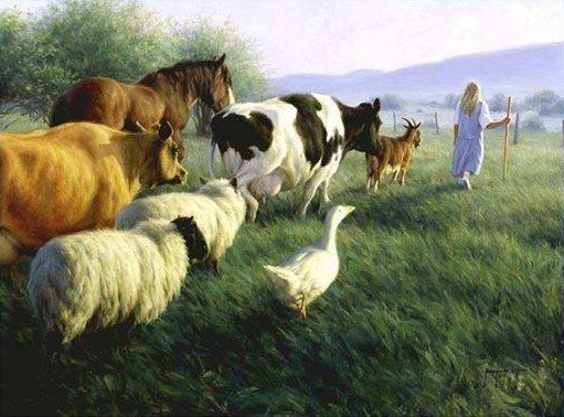 Jesus preached compassion and the end of discrimination. He would not punish you for showing compassion towards animals by going vegan.