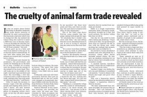 Constantiaburg Bulletin - World Farm Animals Day 2008