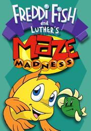 Freddi fish and luther s maze madness the elated vegan for Freddi fish online