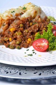 A simple, heart warming recipe for lentil cottage pie. Comfort food that will bring back memories of your Mom