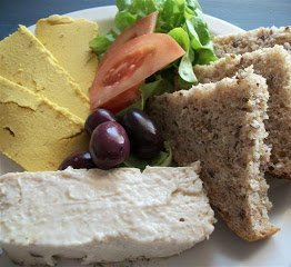 Vegan recipe for Sunny Coloured Cream Cheese. Sliceable, and deliciously spreadable. You will find it is certainly superior in taste to any dairy version.