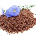 Flax and chia seeds are a great source of fibre, protein, calcium, phosphorus, zinc, manganese and are rich in omega-3 fatty acids. Just 1 tablespoon of ground flax or chia seeds provides you with the essential Omega 3 oils necessary to balance your mood, keep you regular and keep your heart healthy. Photo © 123RF-Olha-Rohulyax.