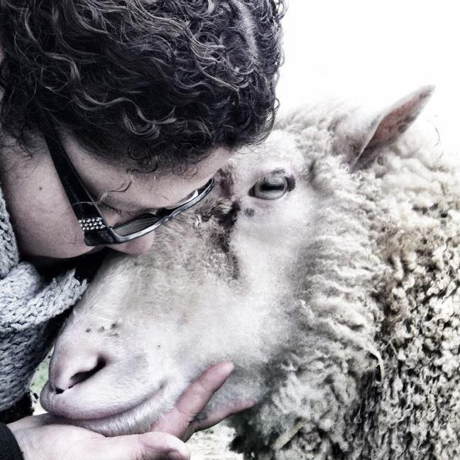 """""""I am the voice of the voiceless... Till the world shall set things right."""" Ella Wheeler Wilcox. Photo D Liz Palmer and Adam © Poplar Springs Animal Sanctuary."""