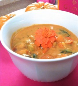 Creamy Mushroom and Roasted Tomato Tahini Stew. Photo © Talia Fuhrman.