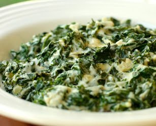 Even your kids might like this kale in cashew cream. Photo © Nathan 'Vegan Dad'.